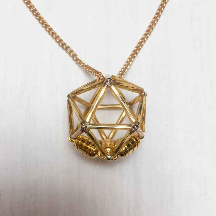 Necklace d20 : Gold