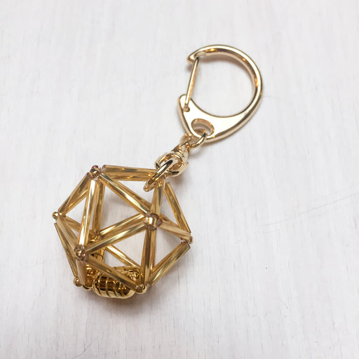 Keychain d20 : Gold