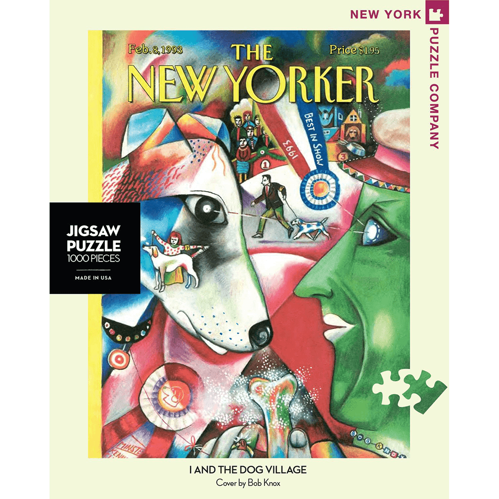 Puzzle (1000pc) New Yorker : I and the Dog Village