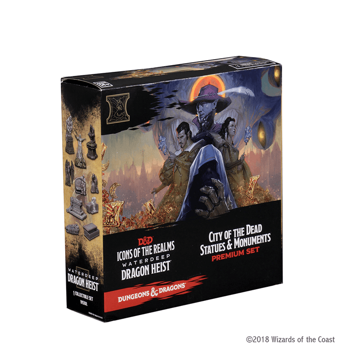 Mini - D&D Icons of the Realms Booster : Waterdeep Dragon Heist, City of the Dead Statues & Monuments