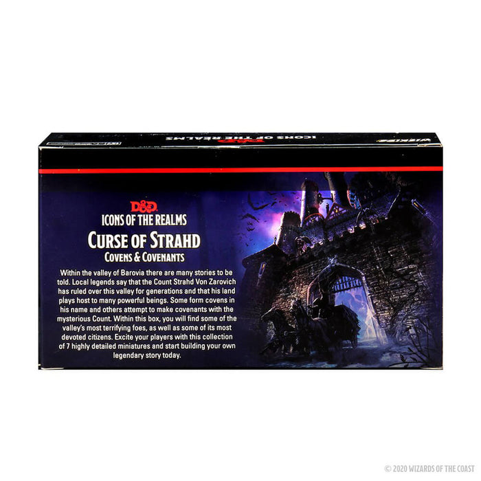 Mini - D&D Icons of the Realms : Curse of Strahd, Covens and Covenants