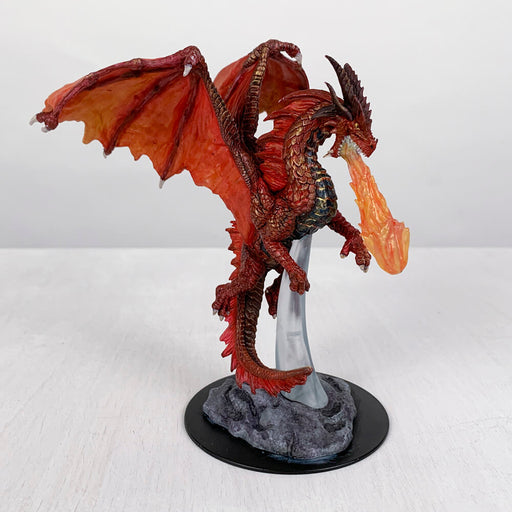 Pro Painted Miniature by Lauren Bilanko | Igneous the Dragon