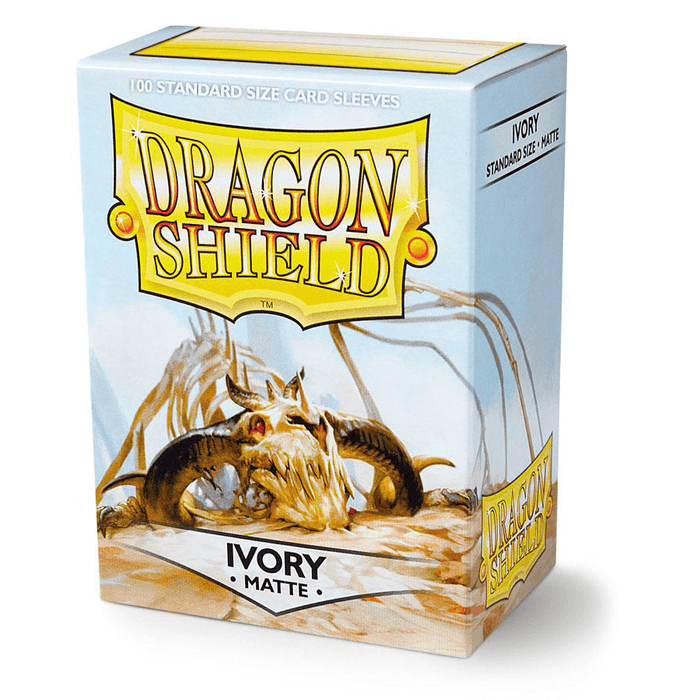 Sleeves Dragon Shield (100ct) Matte : Ivory