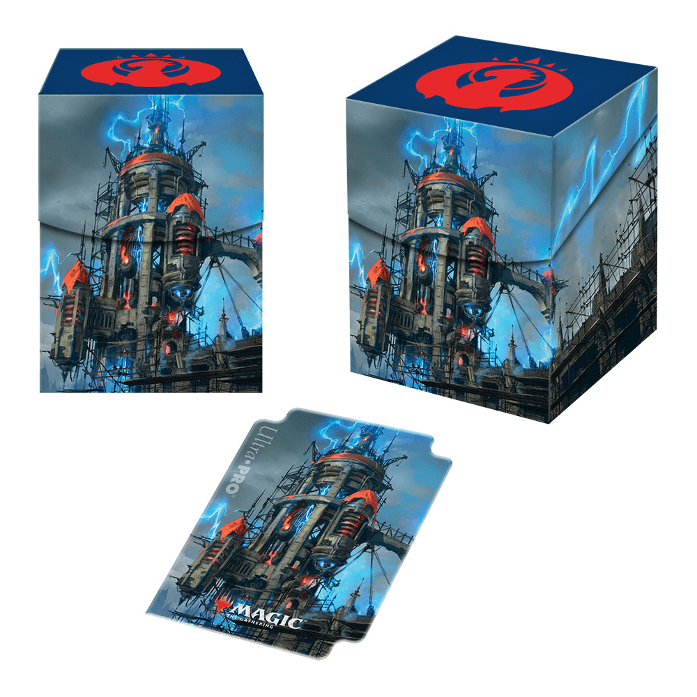 Deck Box - Ultra Pro PRO 100+ Guilds of Ravnica : Izzet League