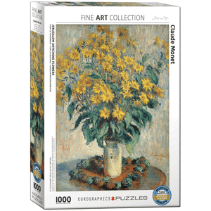 Puzzle (1000pc) Fine Art : Jerusalem Artichoke Flowers