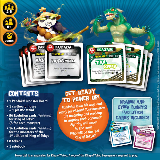 King of Tokyo (2nd ed) Expansion : Power Up!