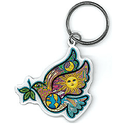 Keychain Peace Dove