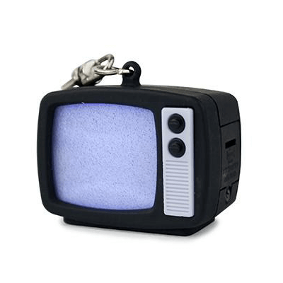 Keychain TV Static