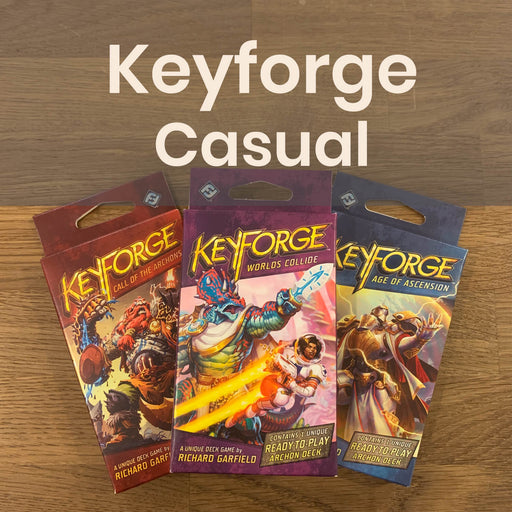 Keyforge Casual | Wednesdays @ 7p