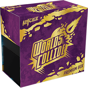 Keyforge Worlds Collide Premium Box