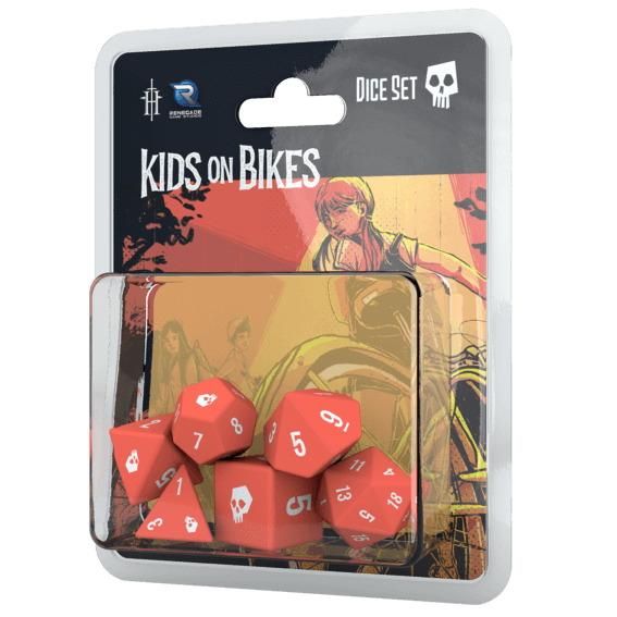 Kids on Bikes Dice Set