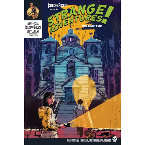 Kids on Bikes Strange Adventures Vol 2