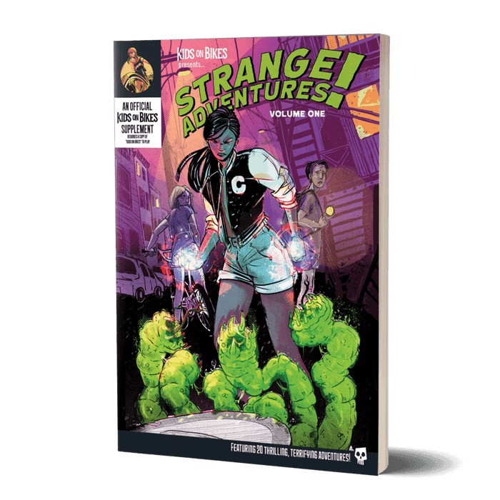 Kids on Bikes Strange Adventures Vol 1