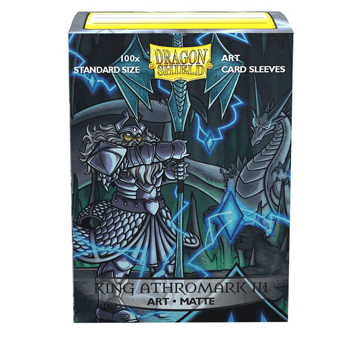 Sleeves Dragon Shield (100ct) Matte : King Athromark III