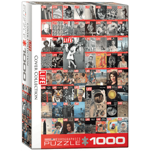 Puzzle (1000pc) Celebrities : LIFE Cover Collection