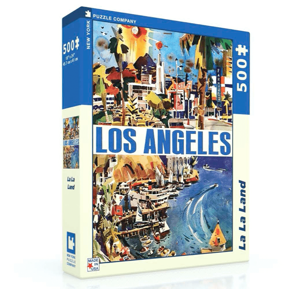 Puzzle (500pc) American Airlines : La La Land