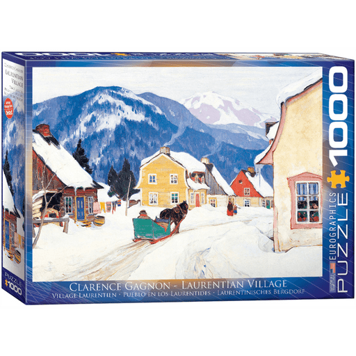 Puzzle (1000pc) Fine Art : Laurentian Village