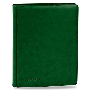 Binder UP (9 Pocket) Leather : Green