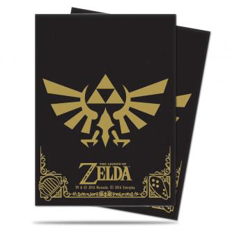 Sleeves Ultra Pro (65ct) Legend of Zelda : Black and Gold
