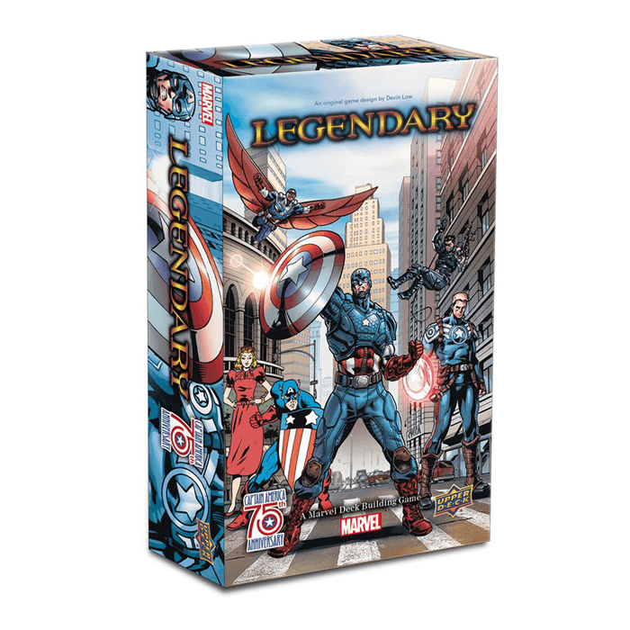 Legendary Marvel Expansion : Captain America 75th Anniversary