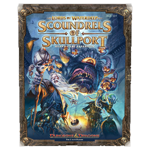 Lords of Waterdeep Expansion : Scoundrels of Skullport