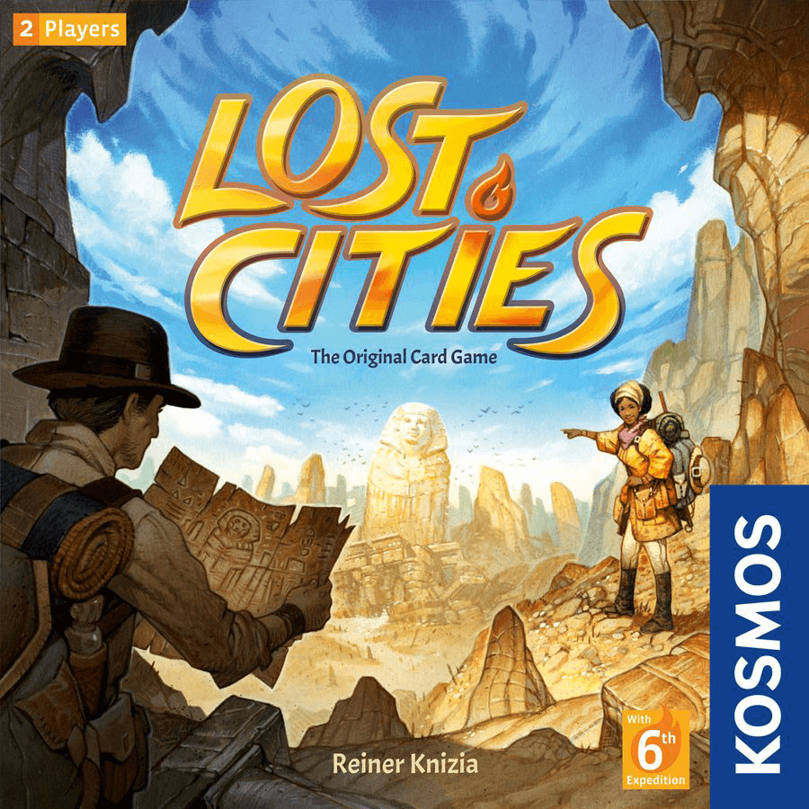 Lost Cities Card Game (2018)