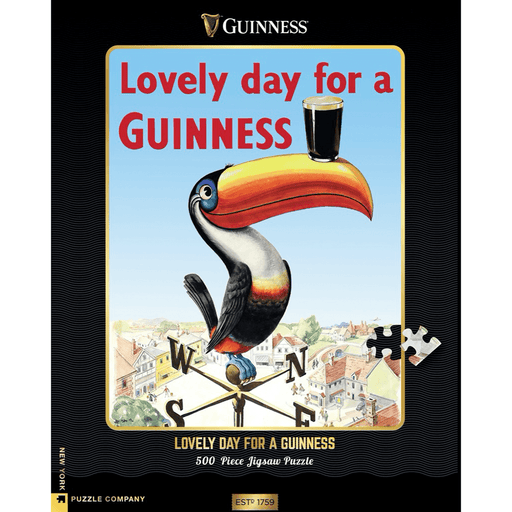 Puzzle (500pc) Guinness : Lovely Day for a Guinness