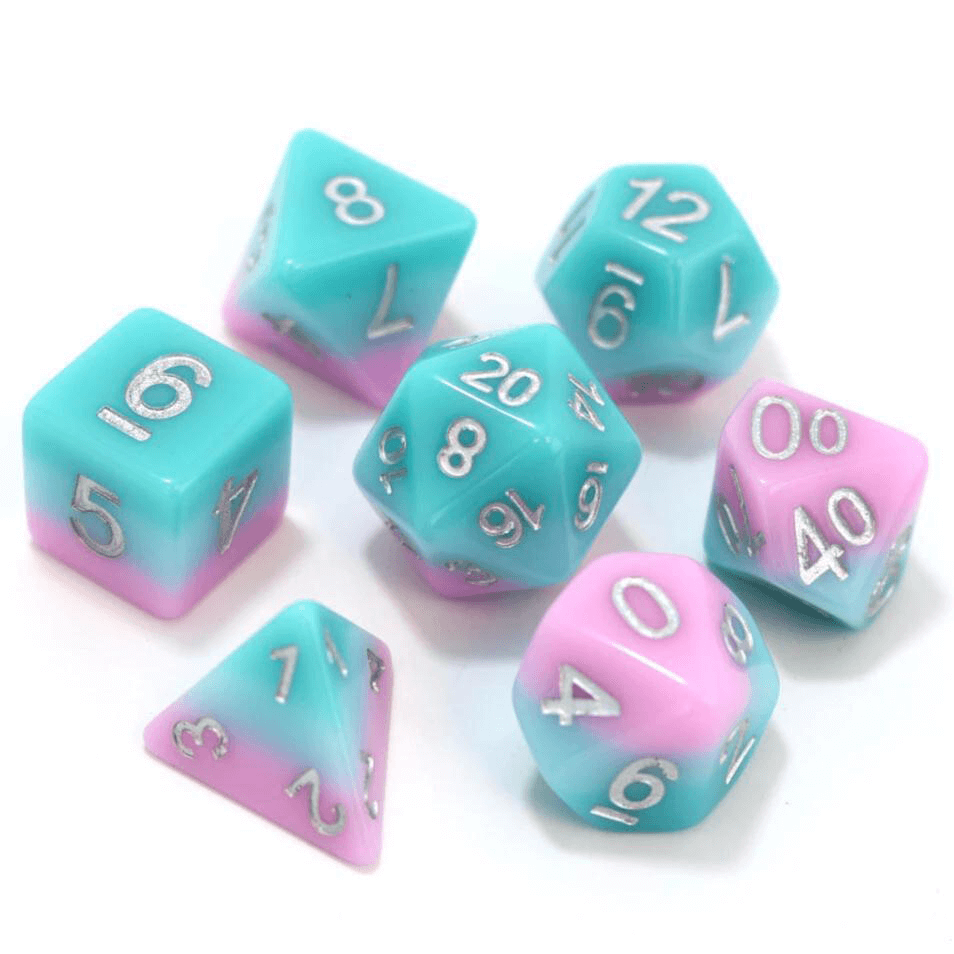Dice 7-Set Gradient (16mm) Lover's Whisper