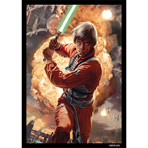 Sleeves Star Wars (50ct) Luke Power of the Light Side