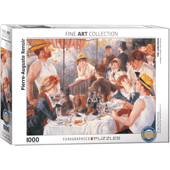 Puzzle (1000pc) Fine Art : Luncheon of the Boating Party