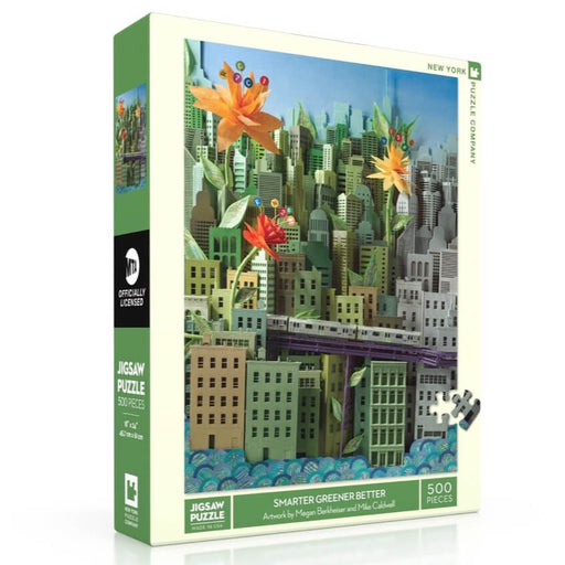 Puzzle (500pc) MTA : Smarter Greener Better