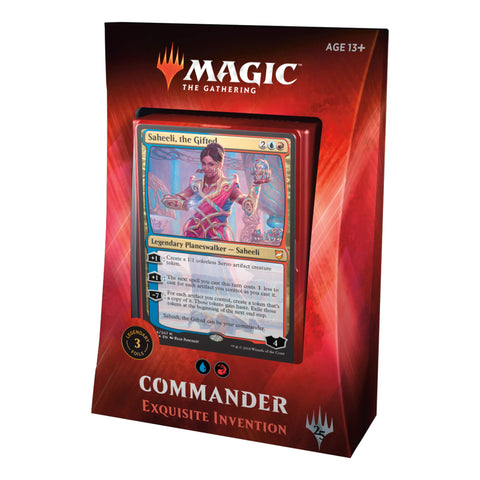 MTG Commander 2018 : Exquisite Artifacts (UR)