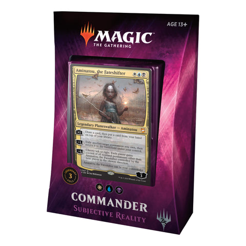 MTG Commander 2018 : Subjective Reality (WUB)