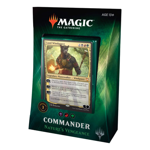 MTG Commander 2018 : Nature's Vengeance (BRG)