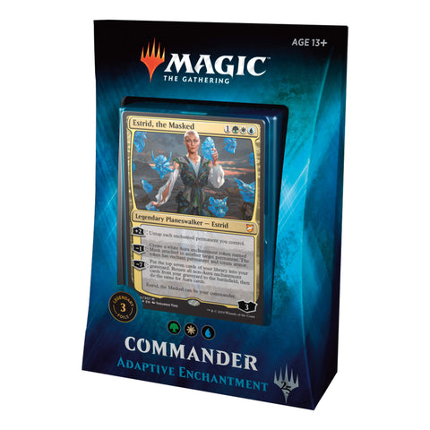 MTG Commander 2018 : Adaptive Enchantment (WUG)