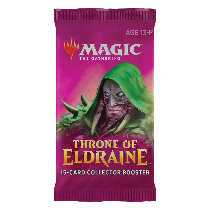 MTG Booster Box Collector's (12ct) Throne of Eldraine (ELD)