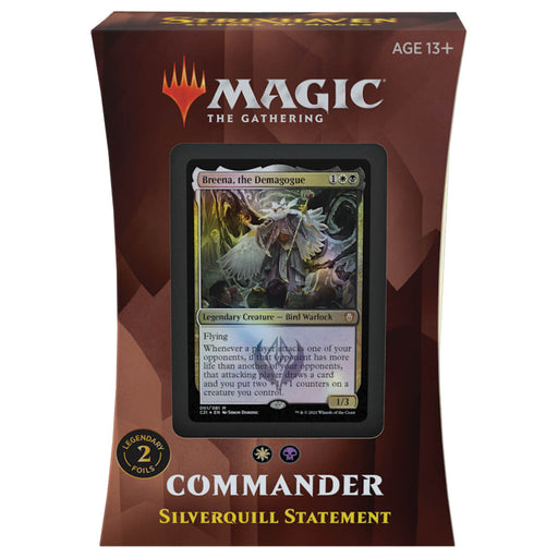 MTG Commander 2021 : Silverquill Statement (WB)