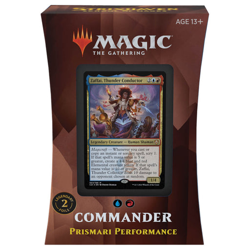 MTG Commander 2021 : Prismari Performance (UR)