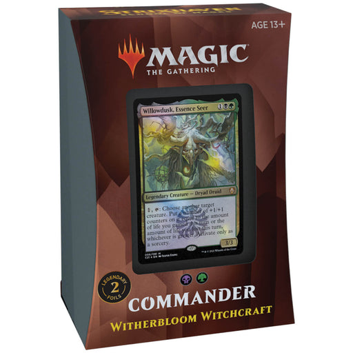 MTG Commander 2021 : Winterbloom Witchcraft (BG)