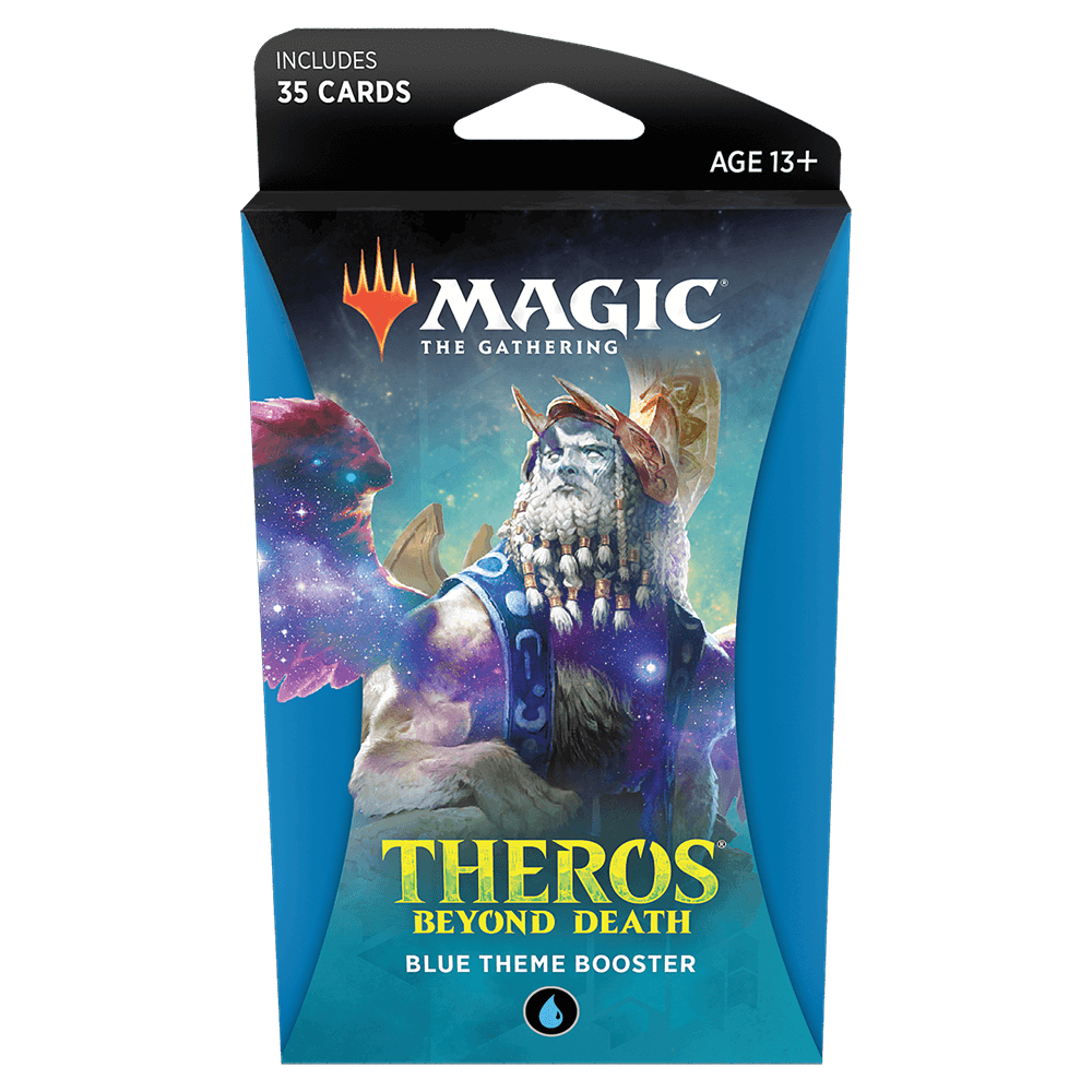 MTG Booster Pack Theme : Theros Beyond Death (THB) Blue