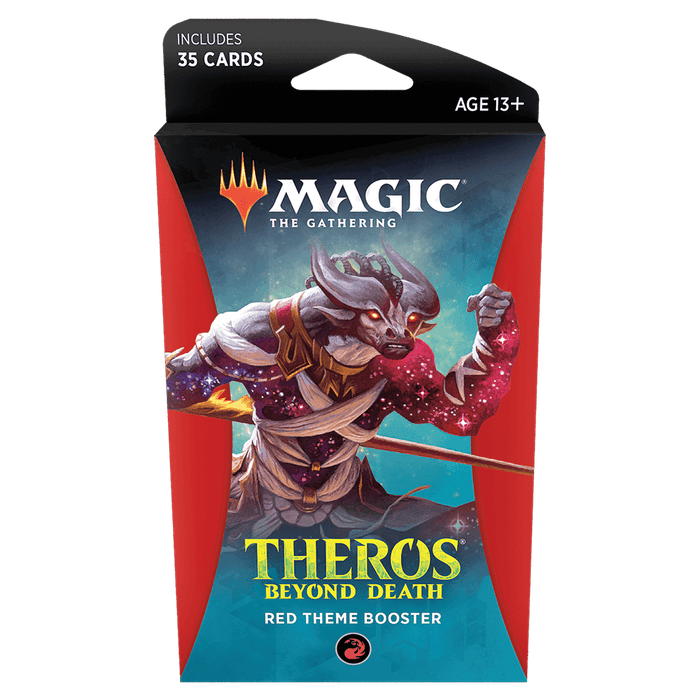 MTG Booster Pack Theme : Theros Beyond Death (THB) Red
