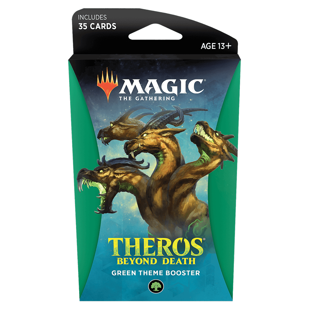 MTG Booster Pack Theme : Theros Beyond Death (THB) Green