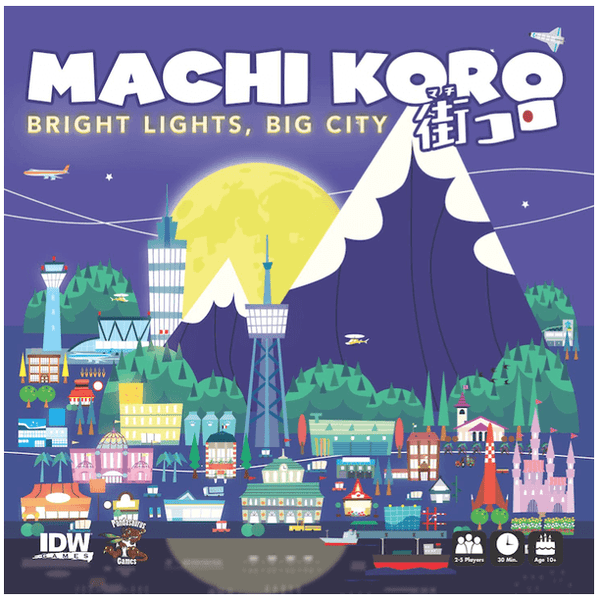 Machi Koro Bright Lights Big City