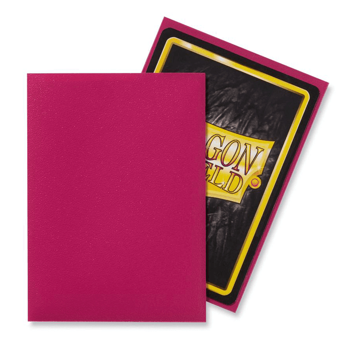 Sleeves Dragon Shield (100ct) Matte : Magenta