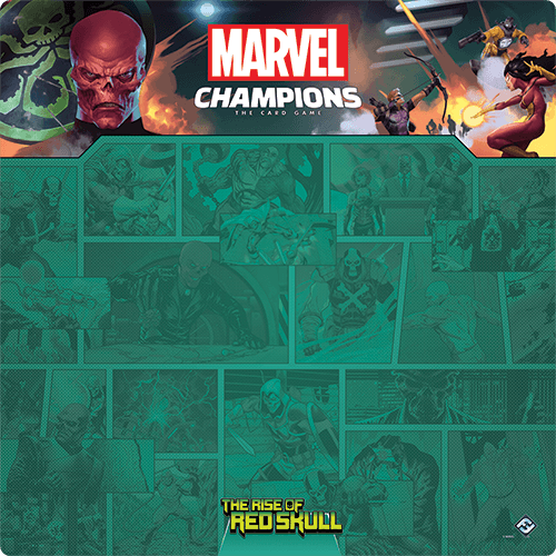 Marvel Champions LCG Game Mat : Rise of the Red Skull
