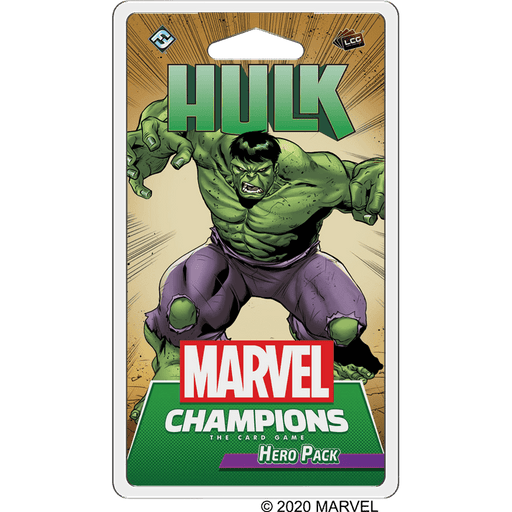 Marvel Champions LCG Hero Pack : Hulk