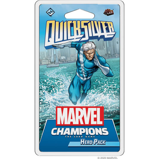 Marvel Champions LCG Expansion : Quicksilver