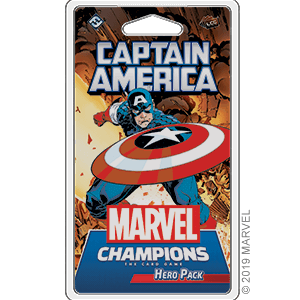Marvel Champions LCG Hero Pack : Captain America