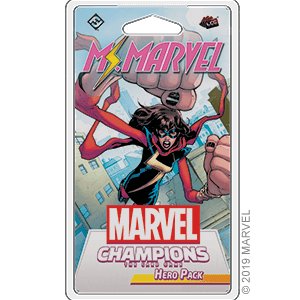 Marvel Champions LCG Hero Pack : Ms. Marvel