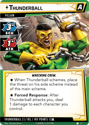 Marvel Champions LCG Scenario Pack : The Wrecking Crew